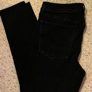 AE - Black High Rise Jegging, AEO Denim X4,  360